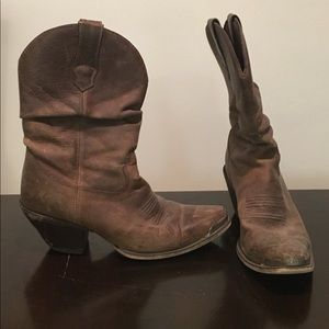 Durango Women's Brown Leather Boots